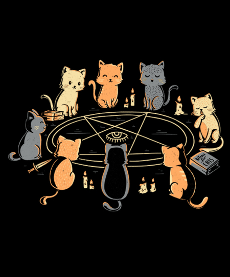 Qwertee: Cat Ritual