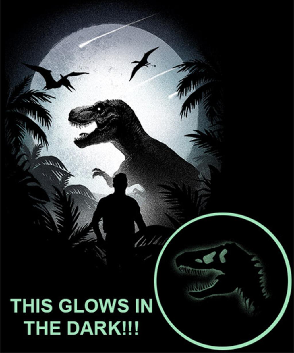 Qwertee: Jurassic Moon