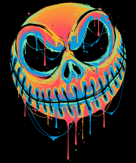 Qwertee: A Colourful Nightmare