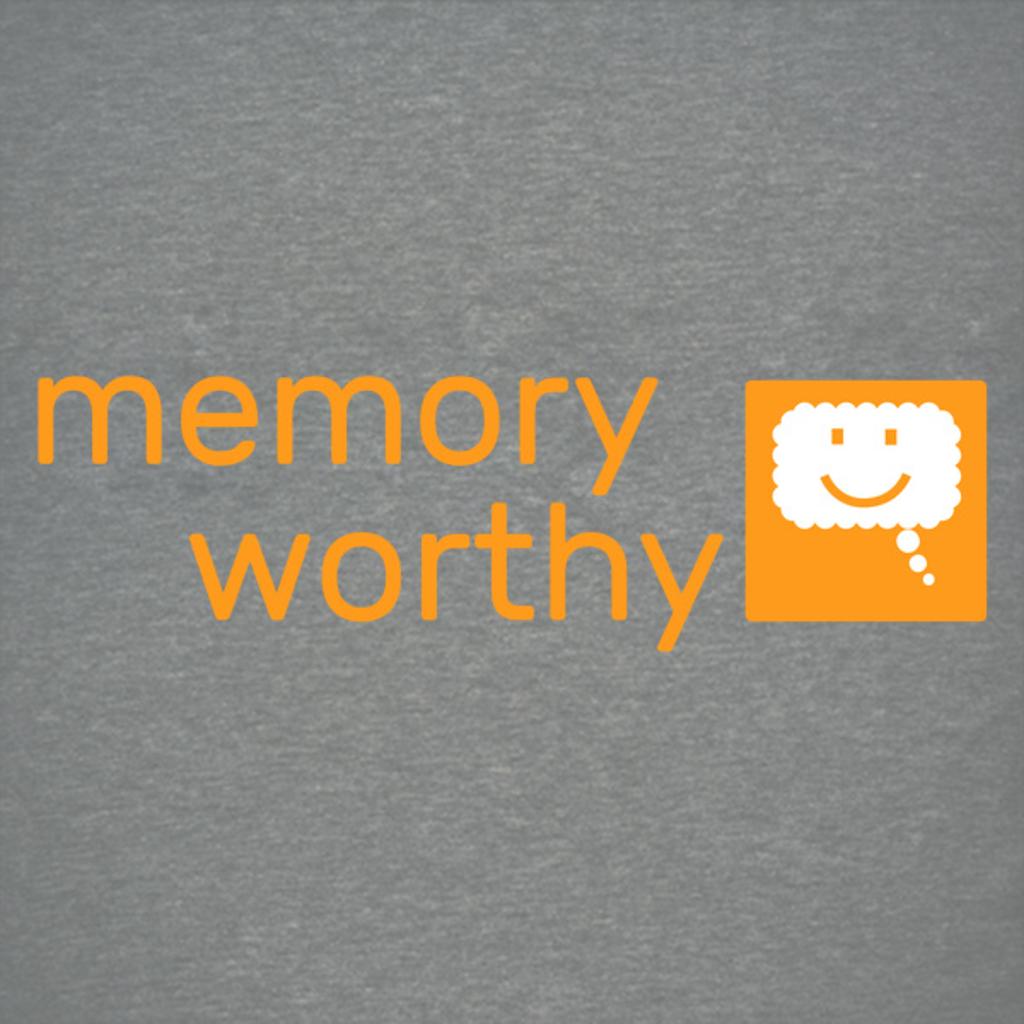 NeatoShop: Memory Worthy Logo