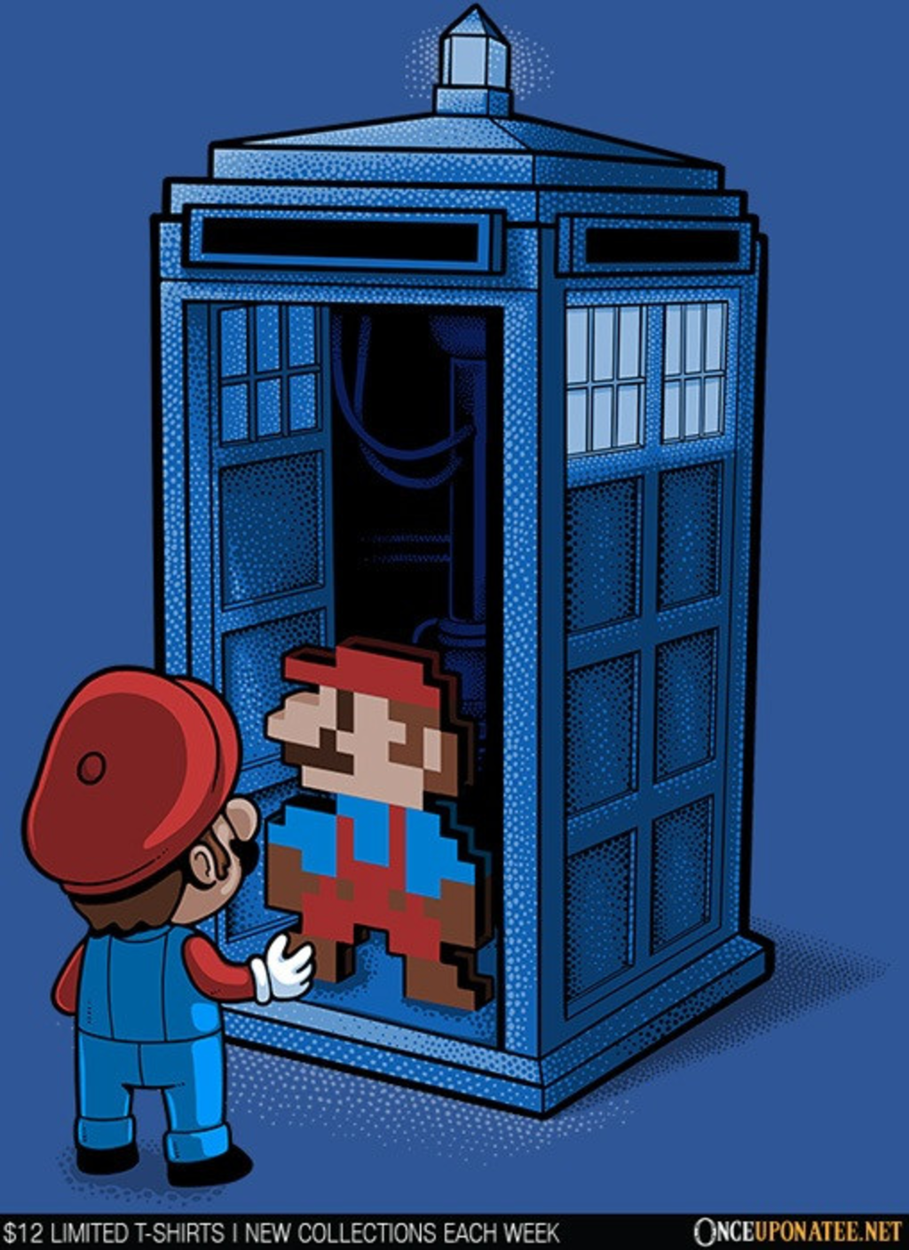 Once Upon a Tee: Back to 8-Bits
