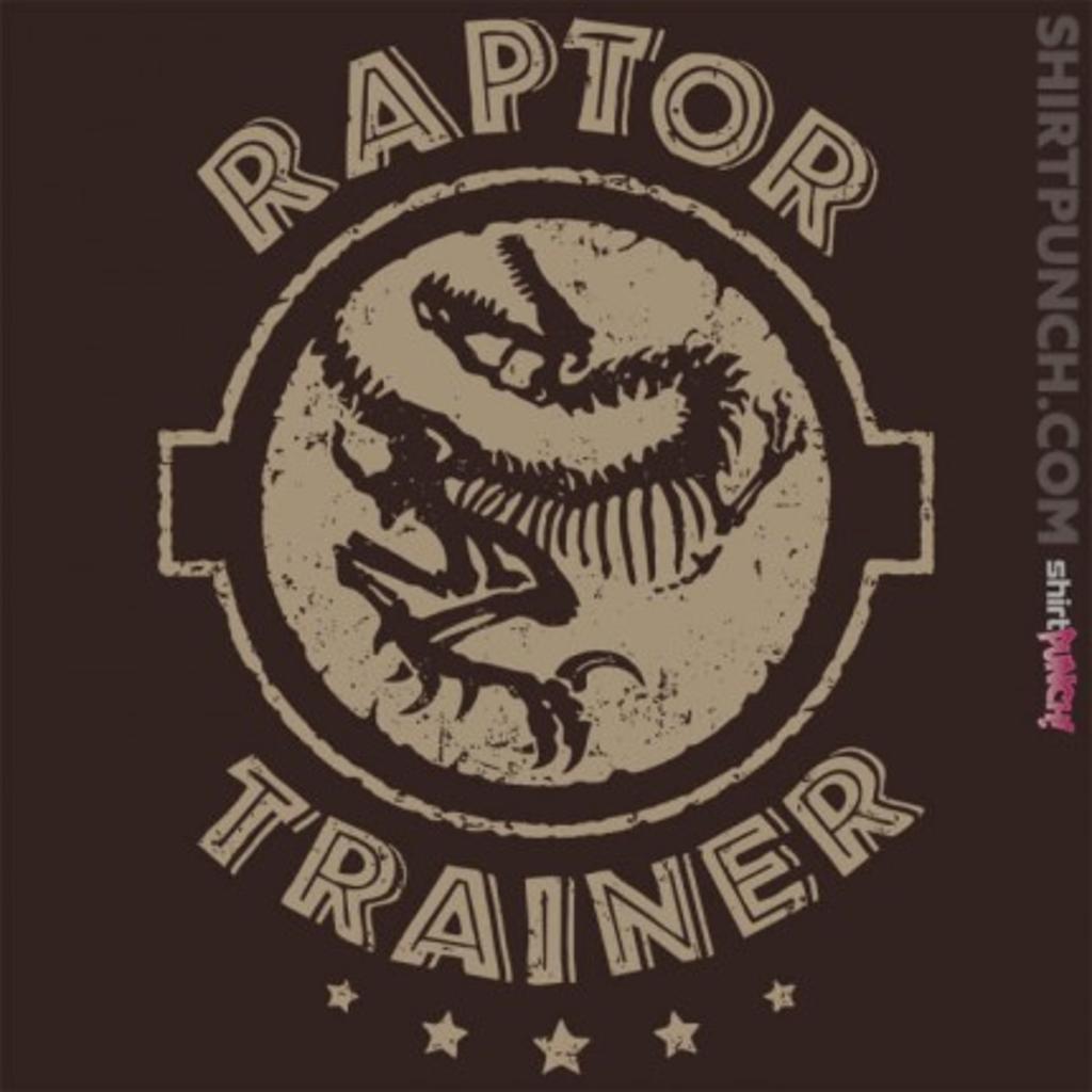 ShirtPunch: Raptor Trainer