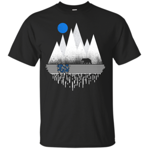 Pop-Up Tee: Blue Moon