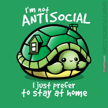 ShirtPunch: Antisocial Turtle