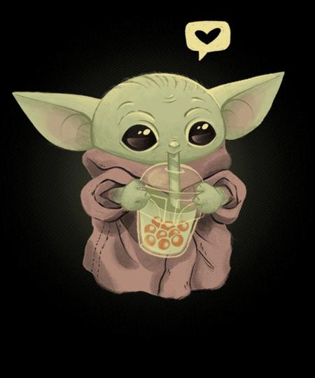 Qwertee: I love BOBA tea!