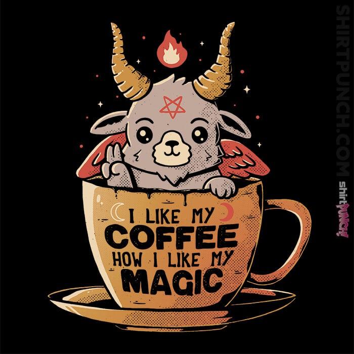 ShirtPunch: Black Coffee