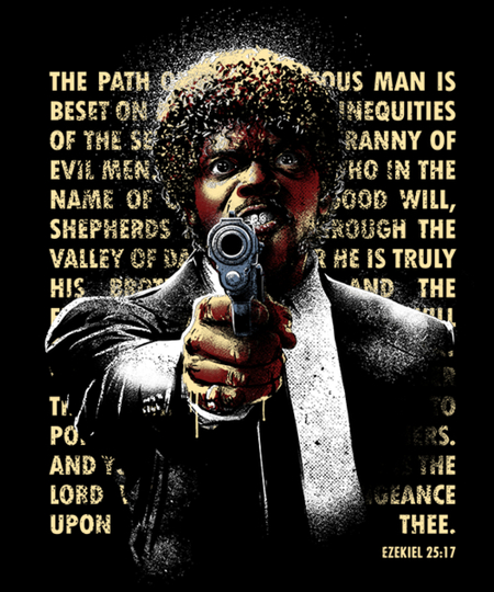 Qwertee: The Path of Righteous Man