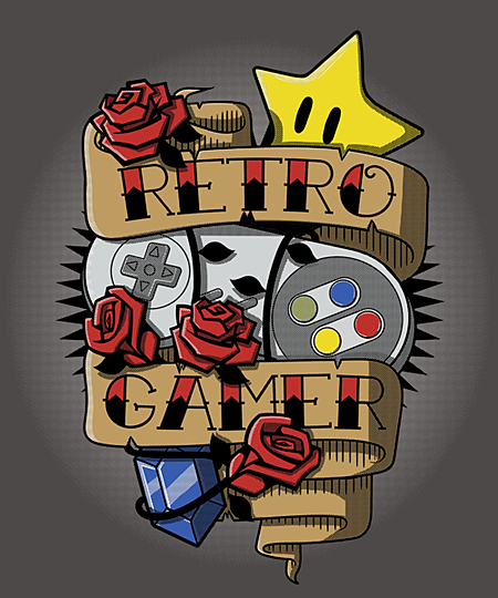 Qwertee: Super Retro Gamer