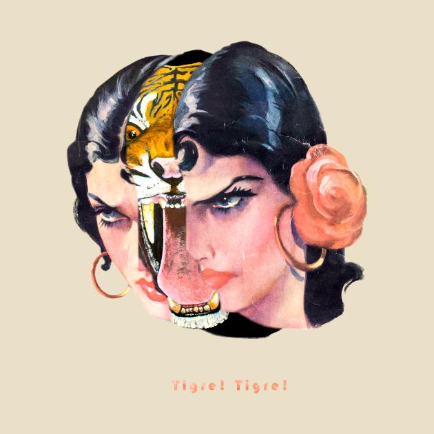 TeePublic: Tigre Lady