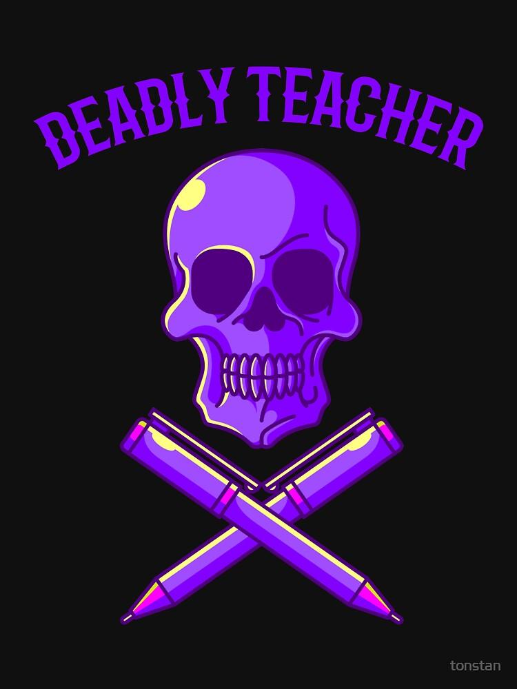 RedBubble: Deadly teacher
