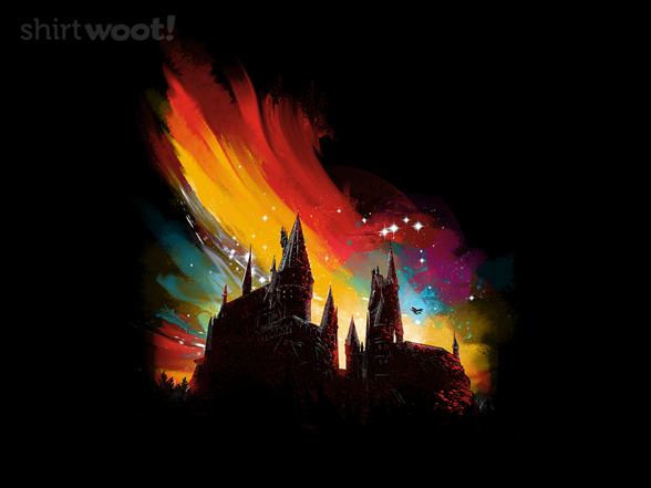 Woot!: Sunset at Hogwarts