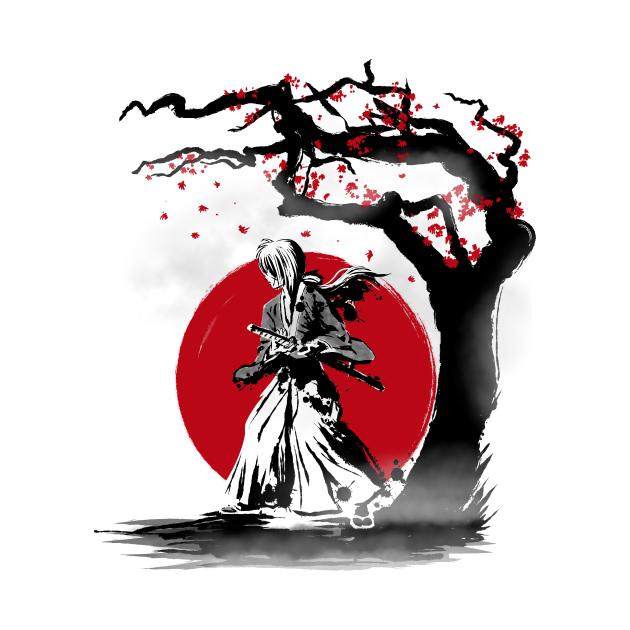 TeePublic: Wandering Samurai