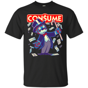 Pop-Up Tee: CONSUME 2