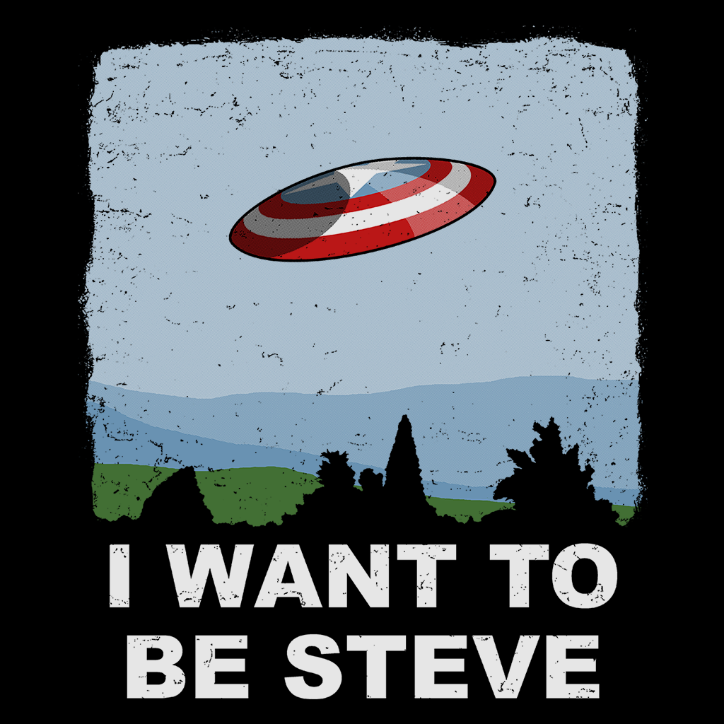 Pop-Up Tee: Weekend Deal - I Want to be Steve