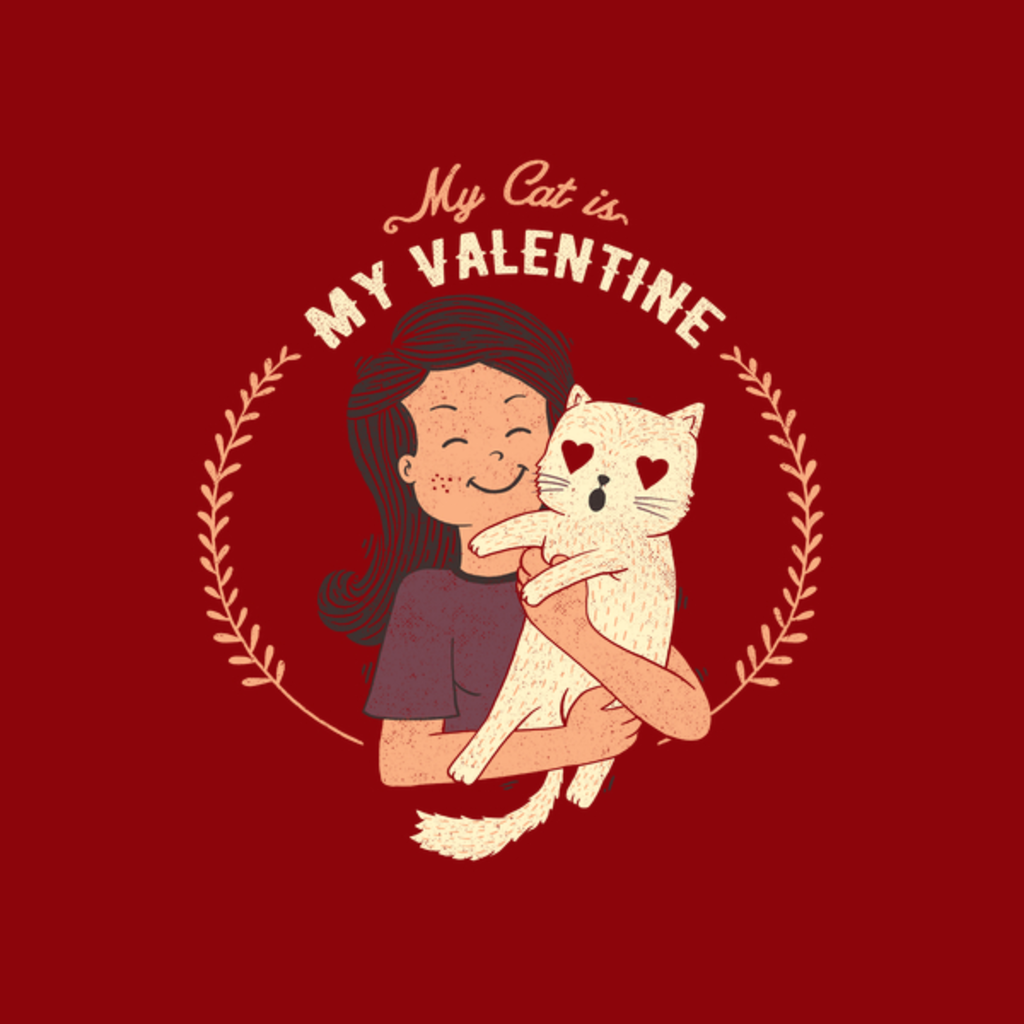 NeatoShop: My Cat Is My Valentine