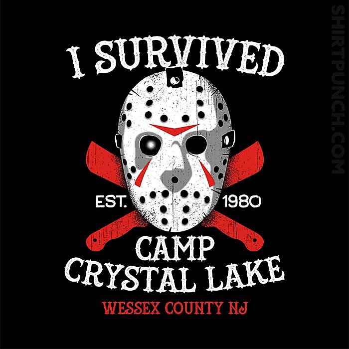 ShirtPunch: Crystal Lake Survivor