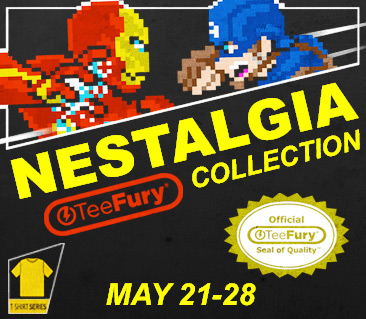 TeeFury: NEStalgia Collection