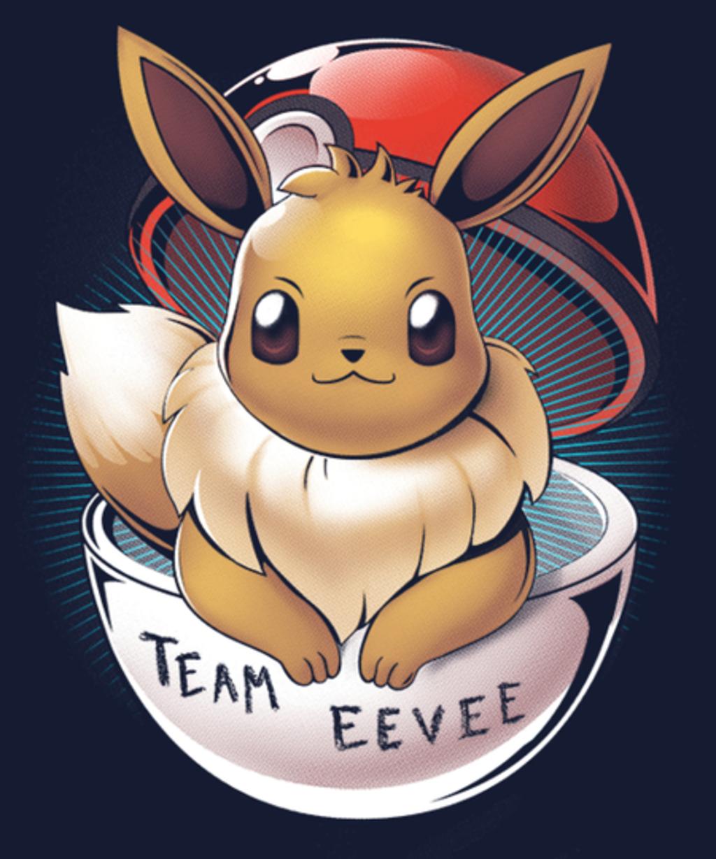 Qwertee: Team Eevee