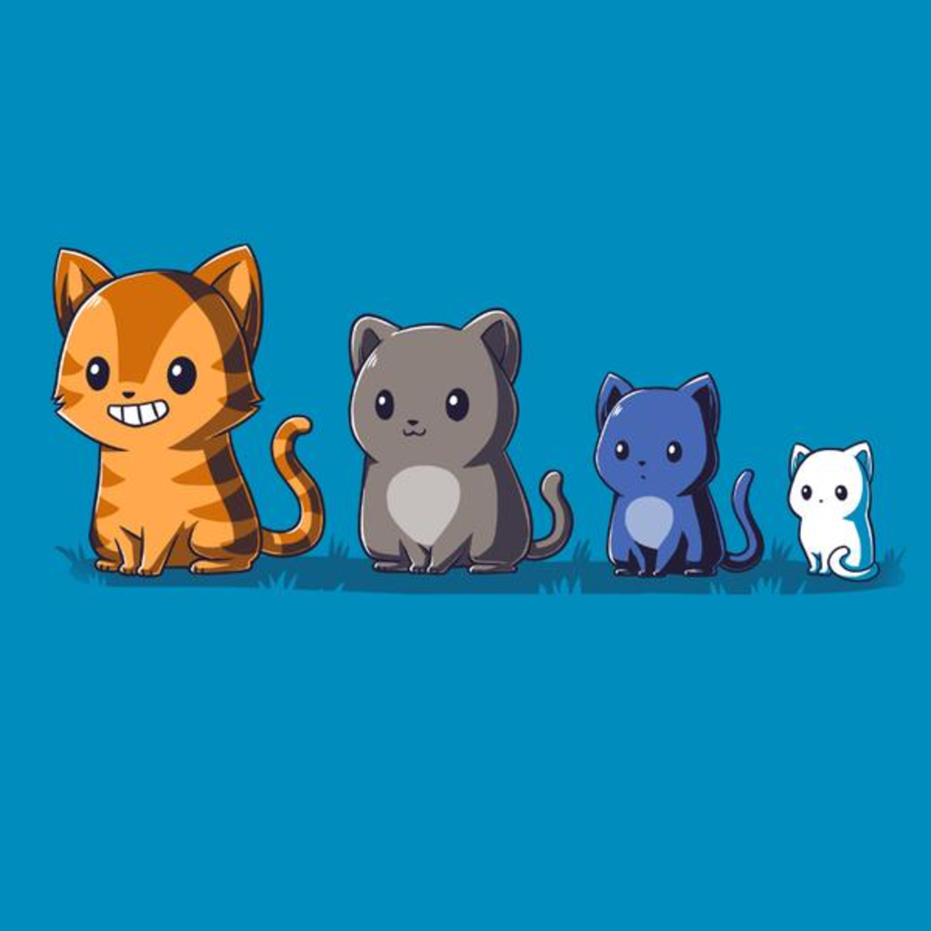 TeeTurtle: Neighborhood Cats