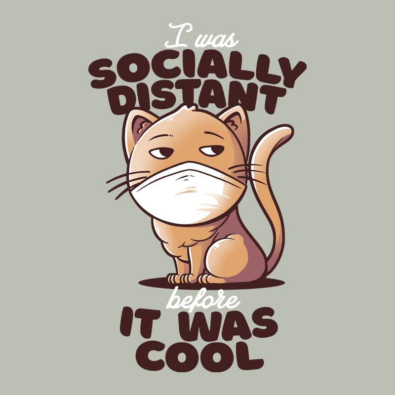 Pampling: Socially Distant Cat