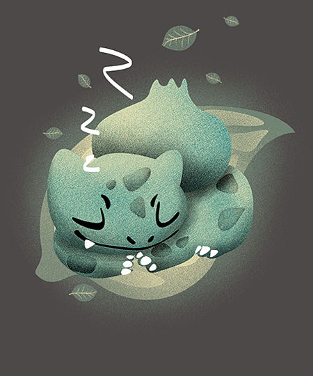 Qwertee: Sleeping Leaf