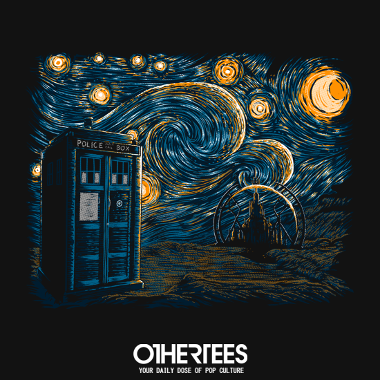 OtherTees: Starry Gallifrey