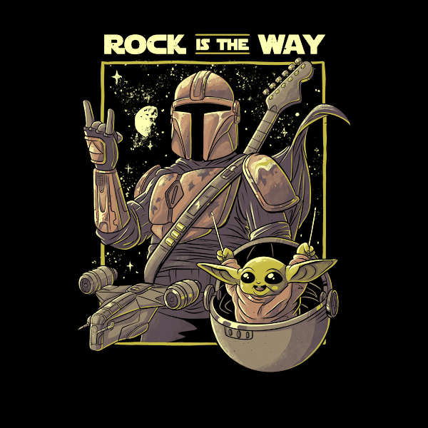 NeatoShop: Rock is the Way Funny Cute Music Gift