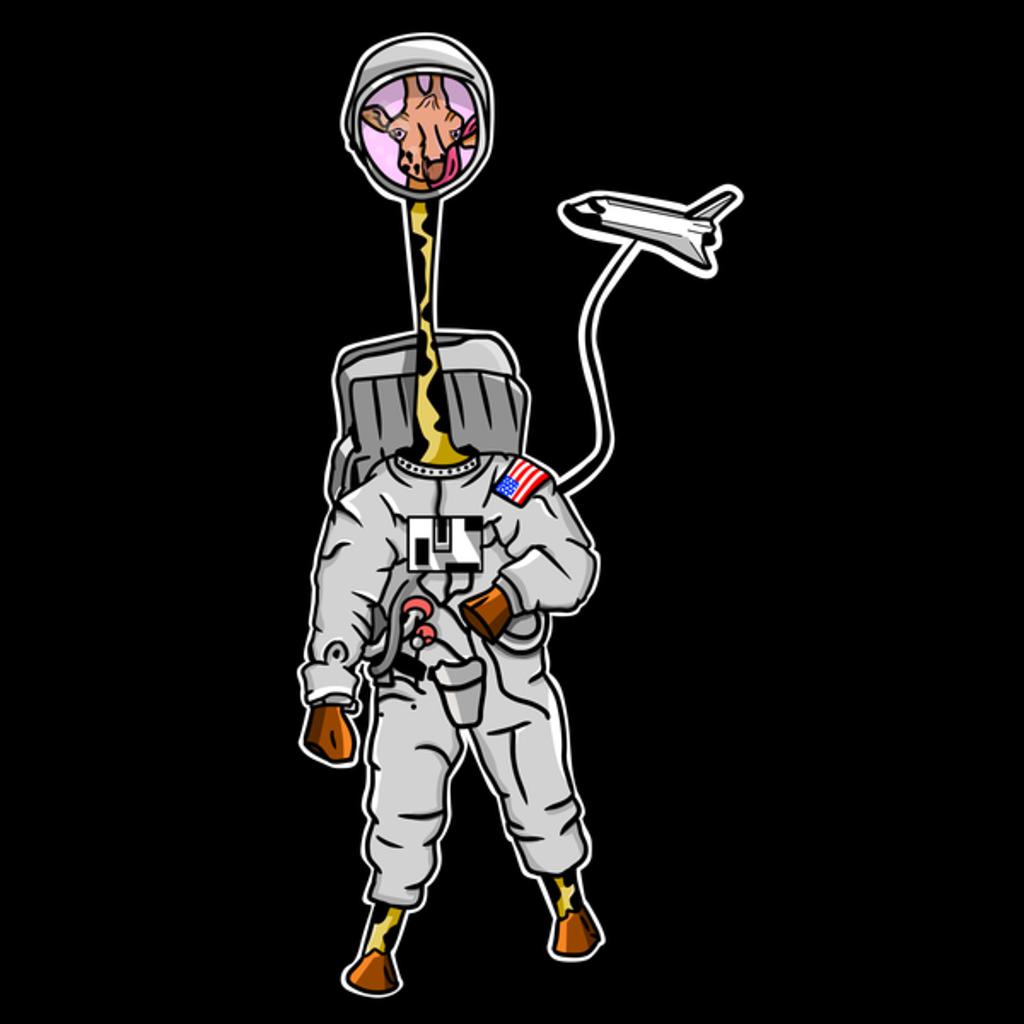 NeatoShop: Giraffe wearing a spacesuit