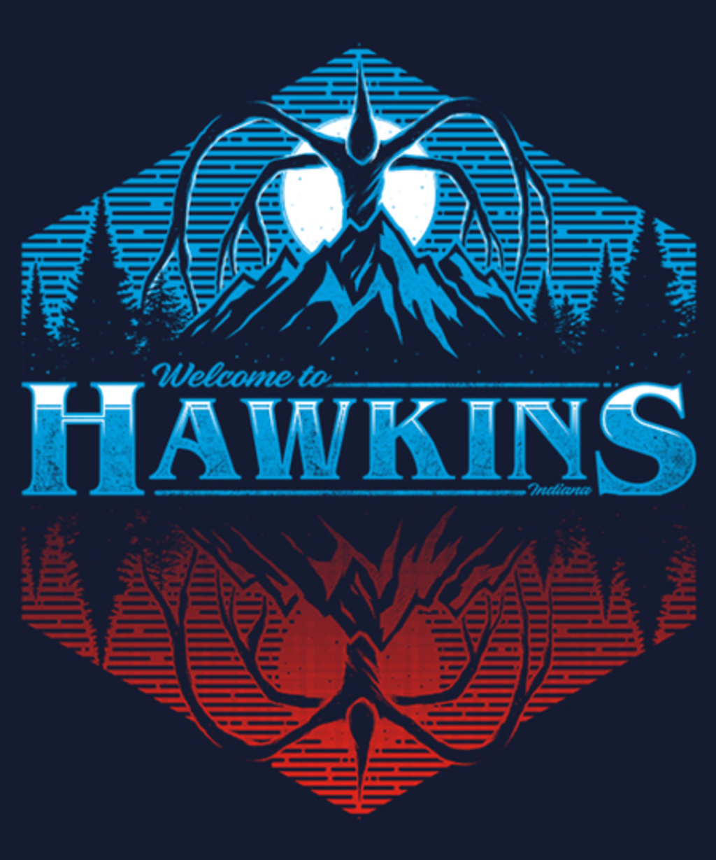 Qwertee: HawkinS 1983