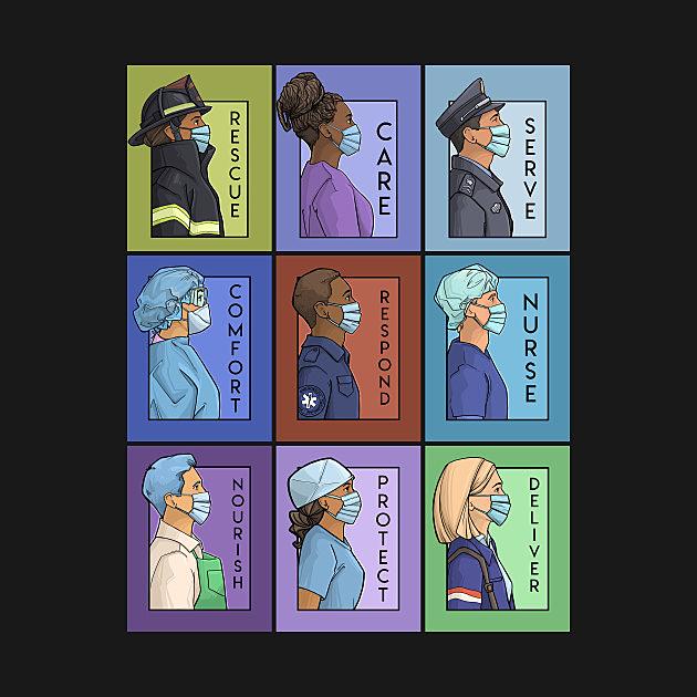 TeePublic: Pandemic Series Collage - Version 2