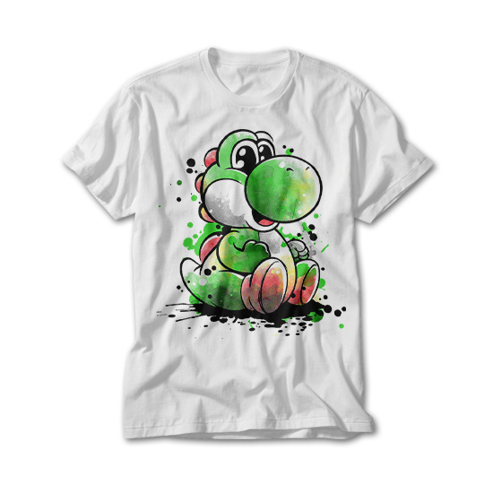 OtherTees: Cute dinosaur watercolor