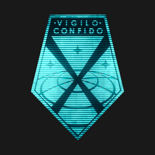TeePublic: Vigilo Confido X Com