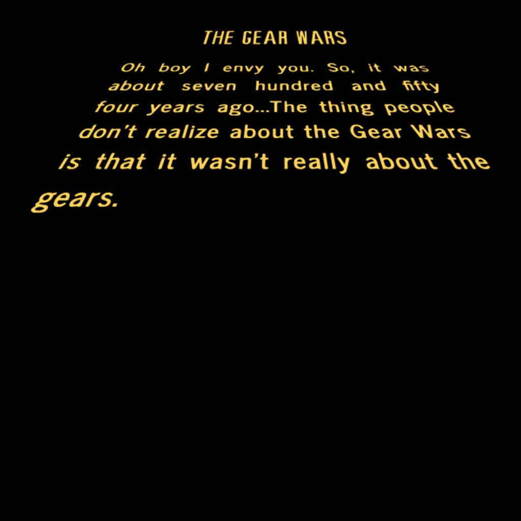 NeatoShop: The Gear Wars