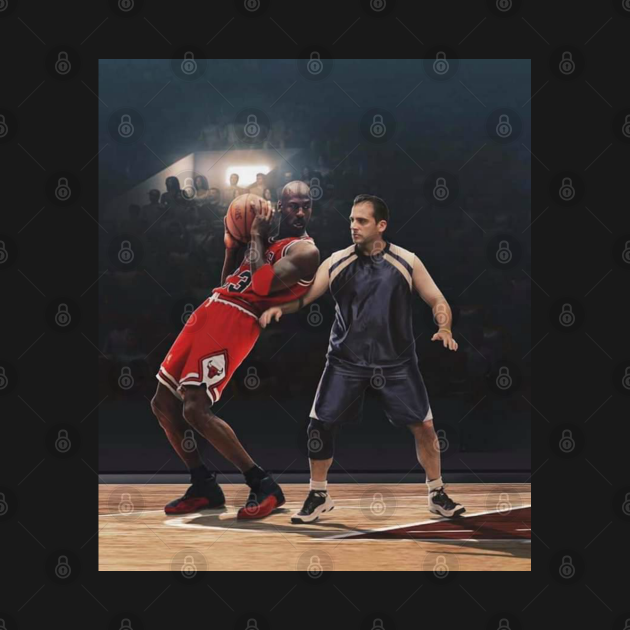 TeePublic: Bball Machine (Michael Scott)