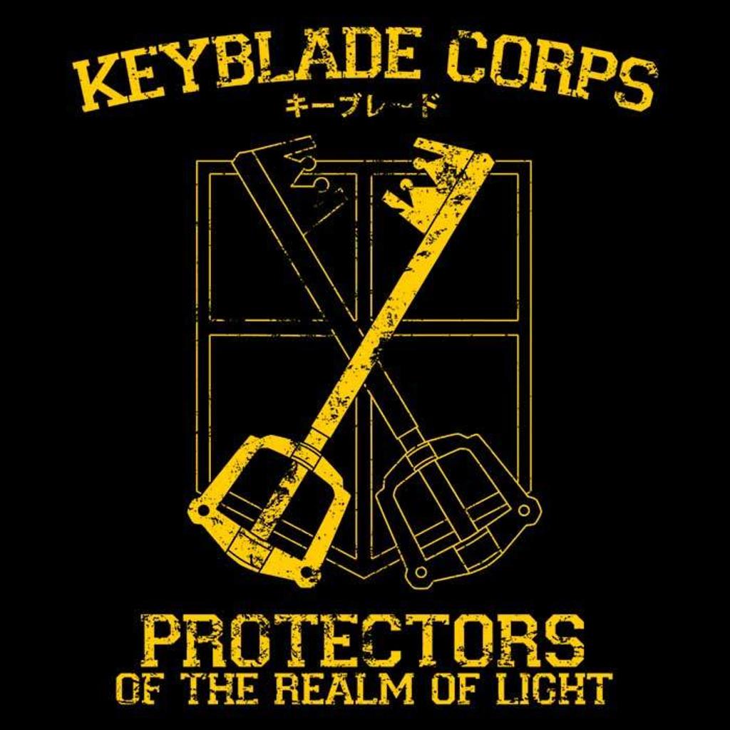 Once Upon a Tee: Keyblade Corps