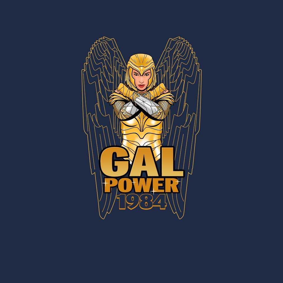 TeeFury: Gal Power 1984