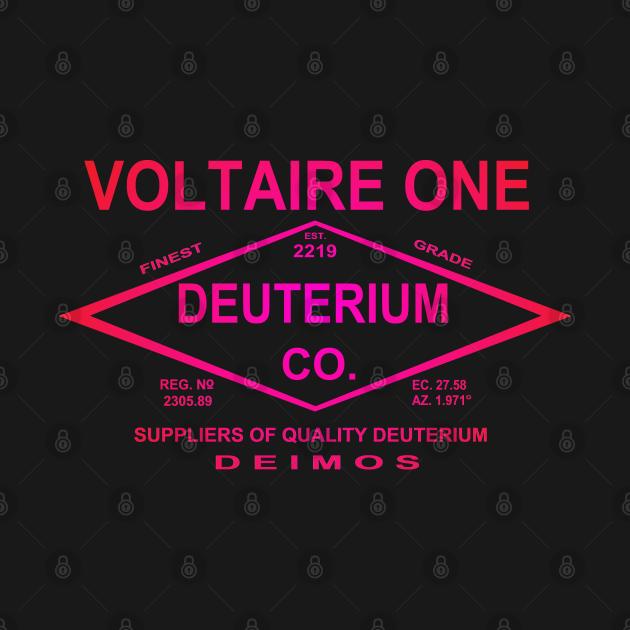 TeePublic: Voltaire One Deuterium Co.