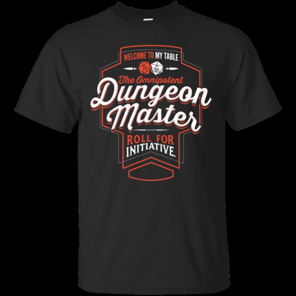Pop-Up Tee: Dungeon Master