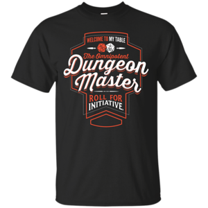 Pop-Up Tee: Dungeon Master