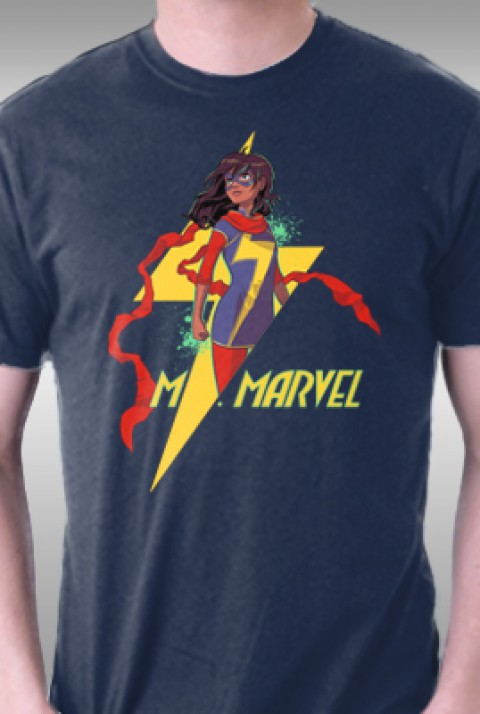 TeeFury: Ms. Marvel