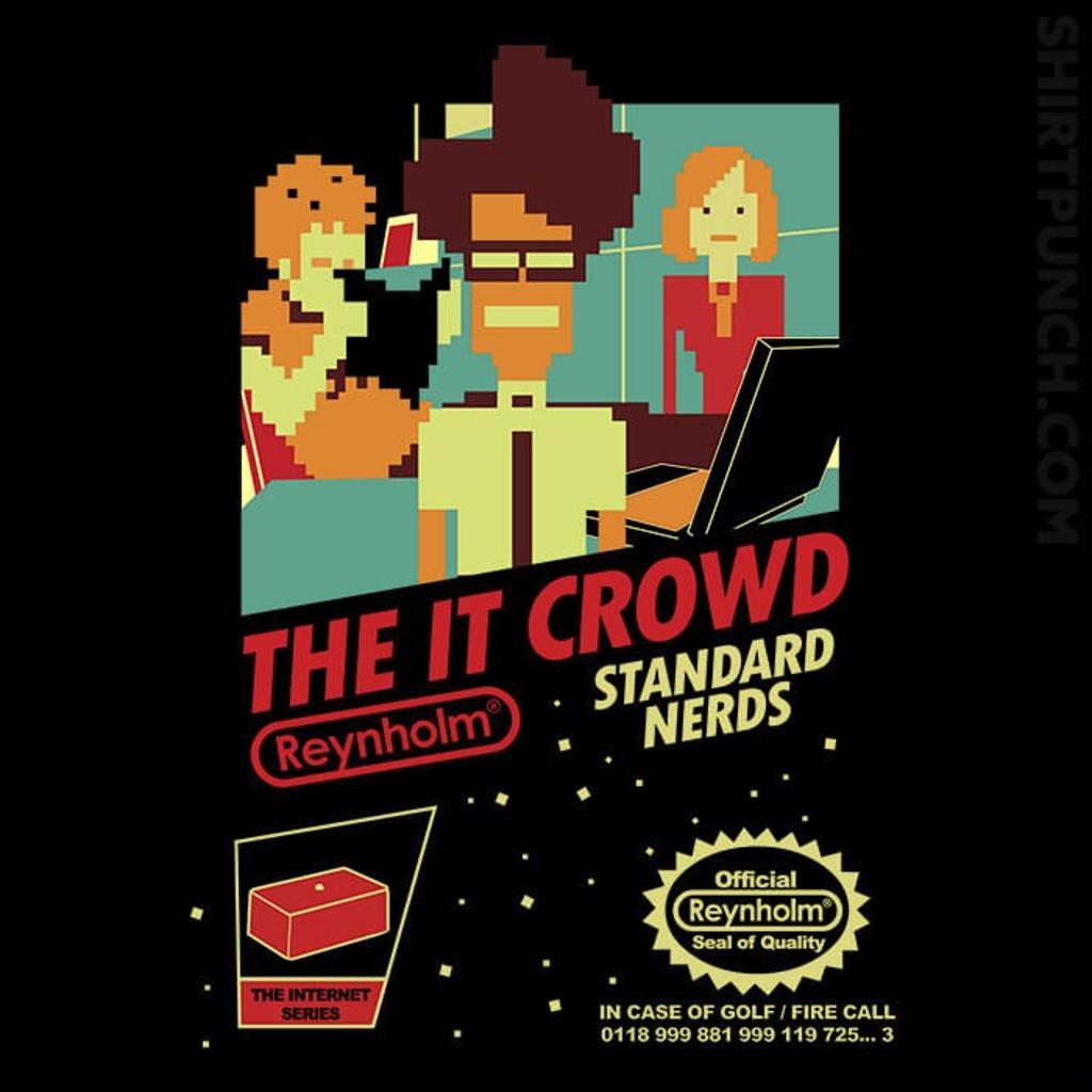 ShirtPunch: Standard Nerds NES