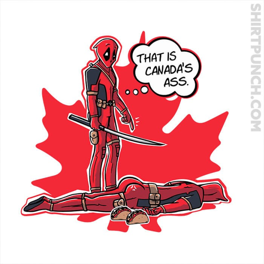 ShirtPunch: Canada's Ass