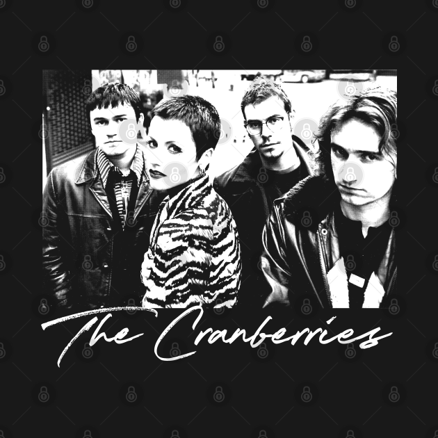 TeePublic: The Cranberries  // 90s Style Fan Design