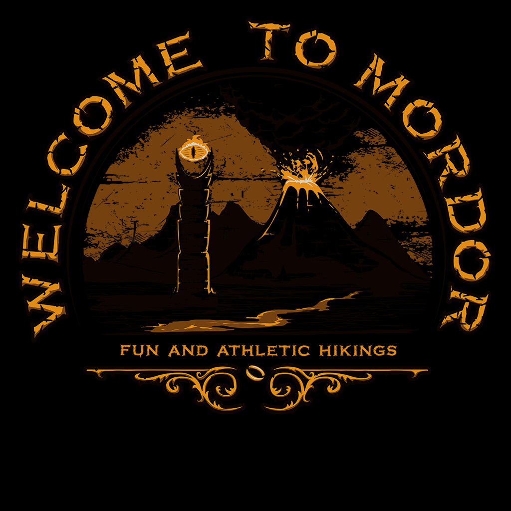 Pop-Up Tee: Welcome to Mordor