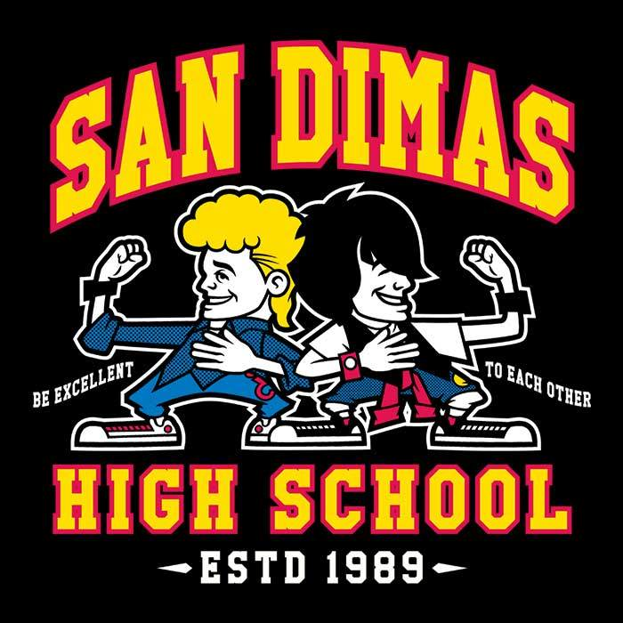 Once Upon a Tee: San Dimas High School