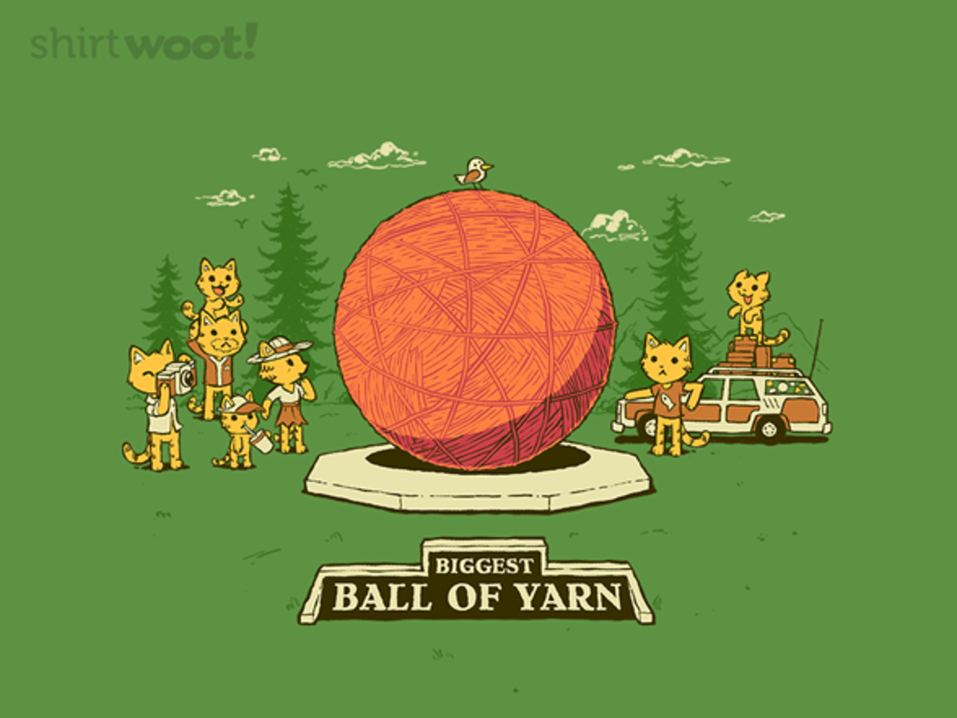 Woot!: Greetings from the Yarn Ball - $15.00 + Free shipping