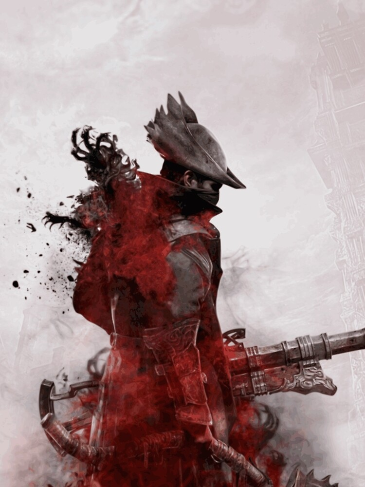 RedBubble: HQ Bloodborne (VECTOR)