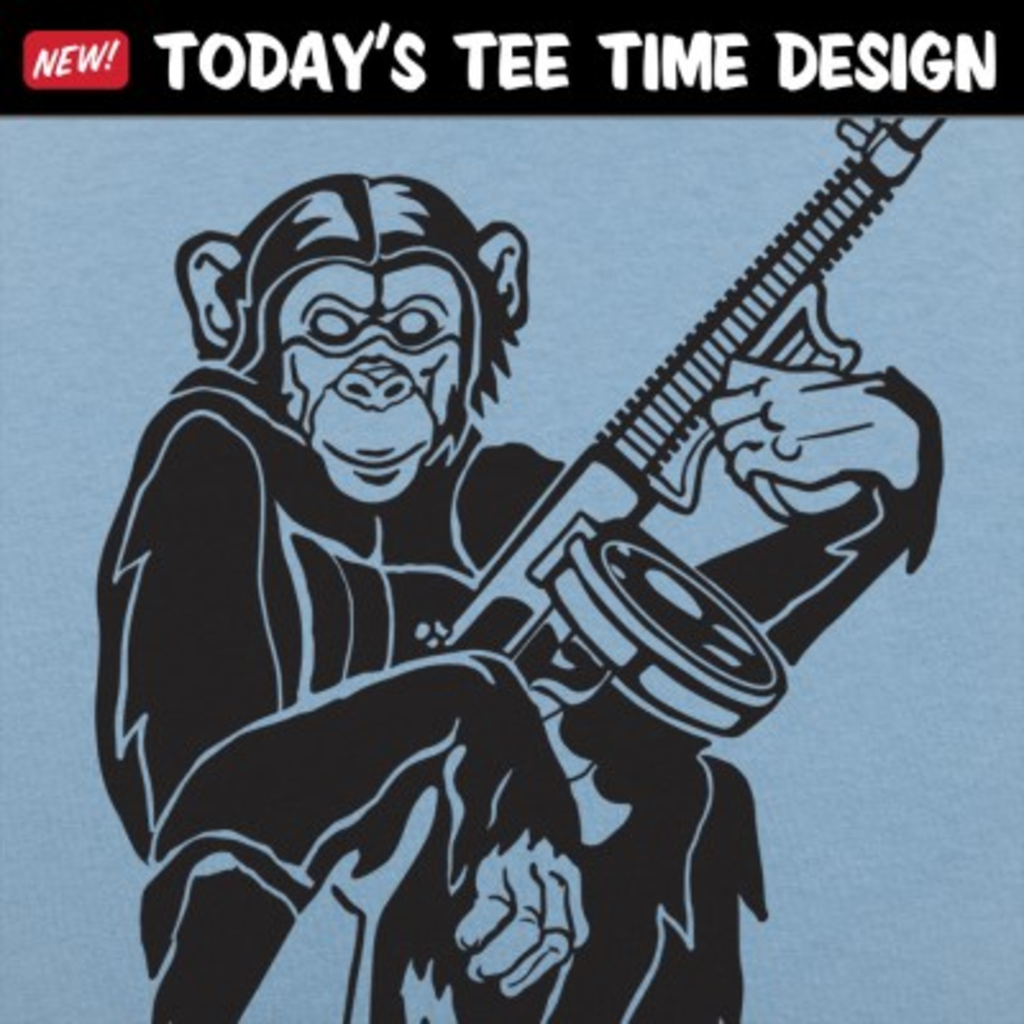 6 Dollar Shirts: Chimp With A Gun