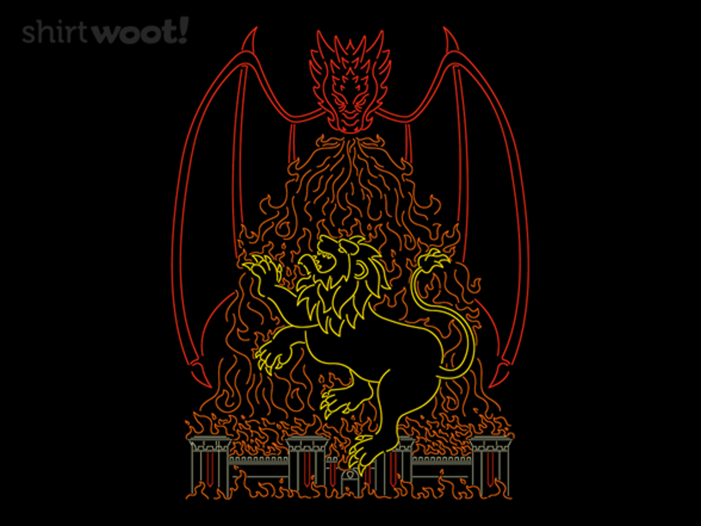 Woot!: Dragon vs the Lion
