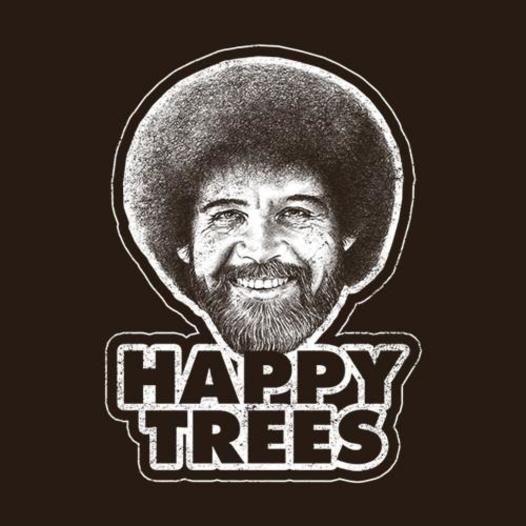 Five Finger Tees: Happy Trees T-Shirt